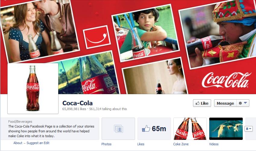 Coke fb shot