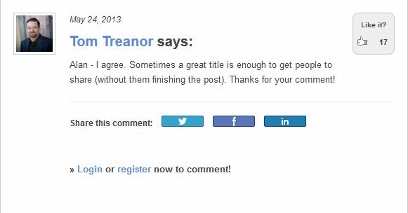 social media today tom treanor quote